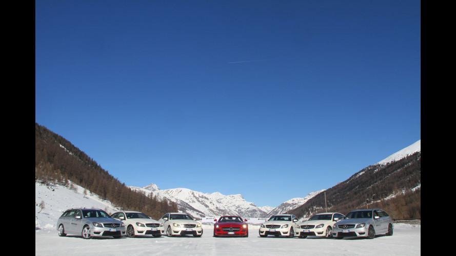 AMG Driving Academy sulle nevi di Livigno