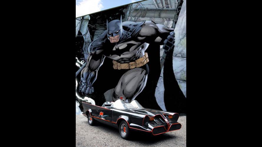 Le auto di Batman viste molto da vicino