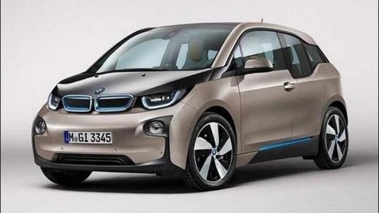[Copertina] - BMW i3, le prime foto della versione di serie