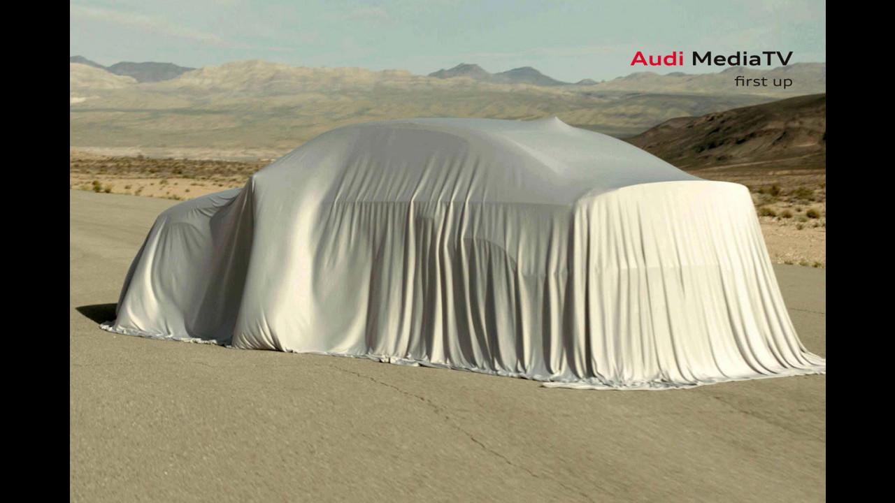 Audi A3 Sedan, il primo teaser