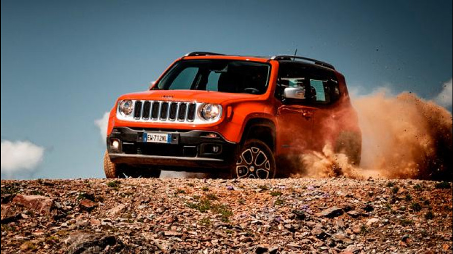 Jeep Renegade Limited e Trailhawk, quelle con 9 marce