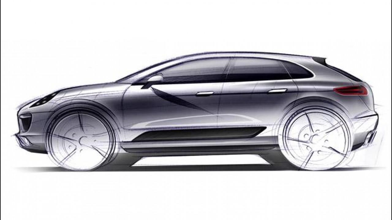 [Copertina] - Porsche Macan: l'anti Evoque arriverà nel 2014