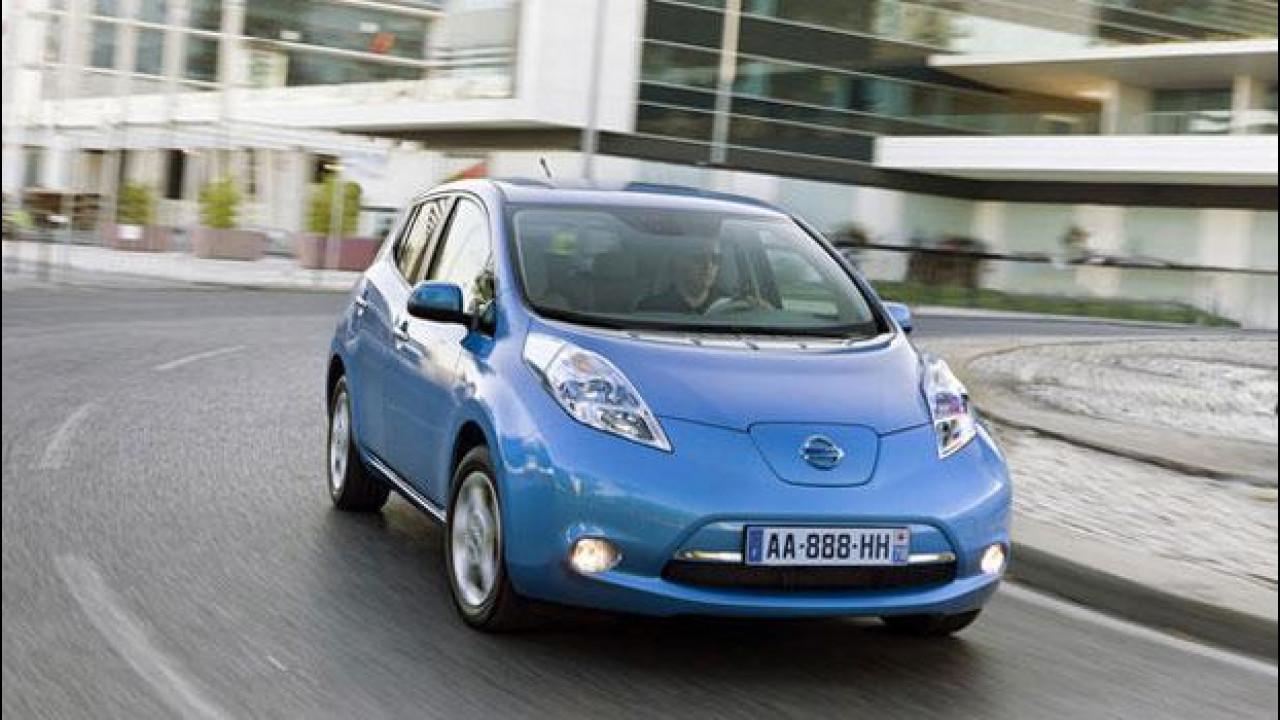 [Copertina] - Incentivi auto 2013, Nissan li anticipa scontando ancora di più la Leaf