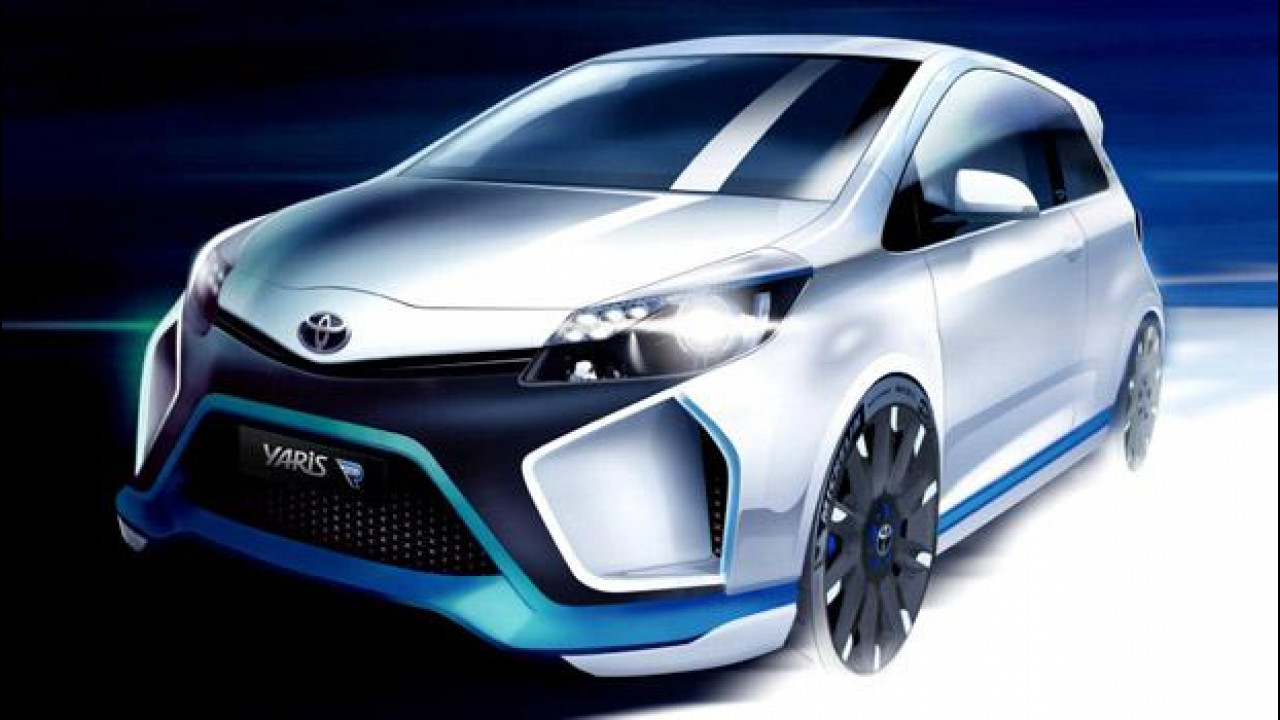 [Copertina] - Toyota Yaris Hybrid-R Concept, la prima immagine