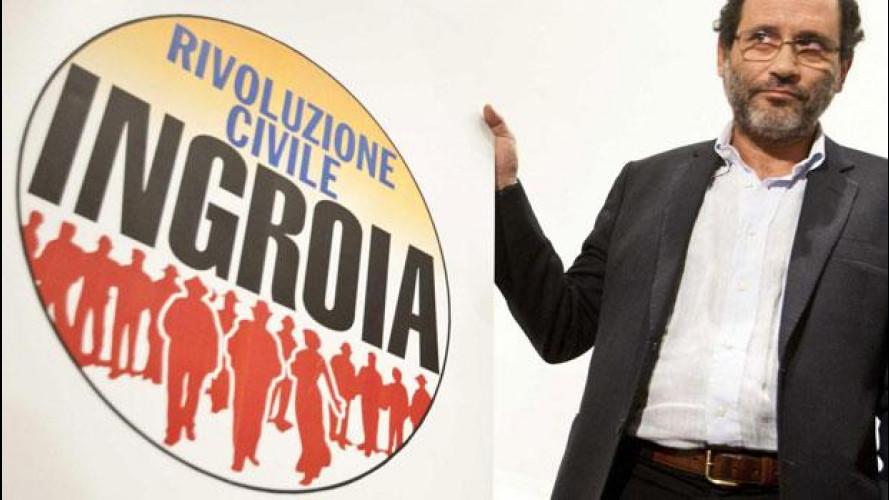 Elezioni 2013, cosa propone Rivoluzione civile per noi automobilisti