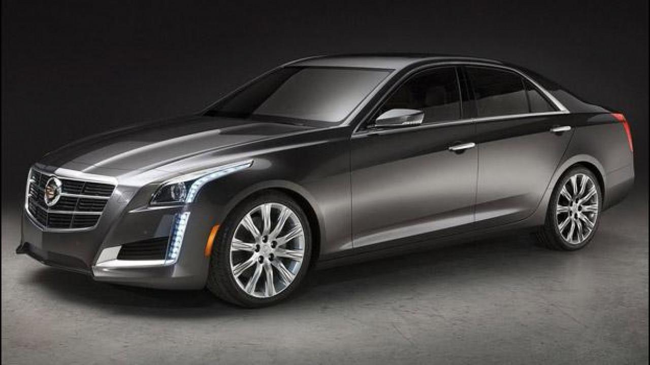 [Copertina] - Nuova Cadillac CTS: le prime foto