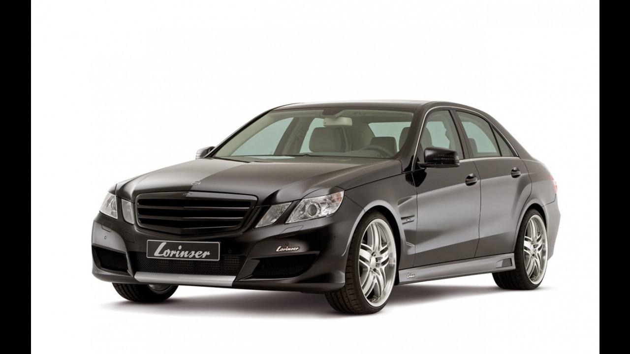 Nuova Mercedes Classe E by Lorinser