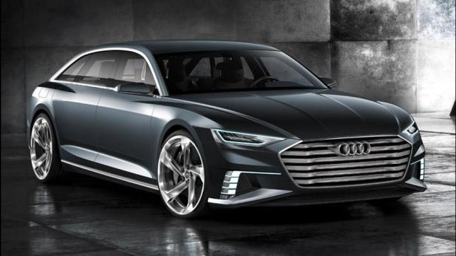 Audi prologue Avant, show car pronta all'azione