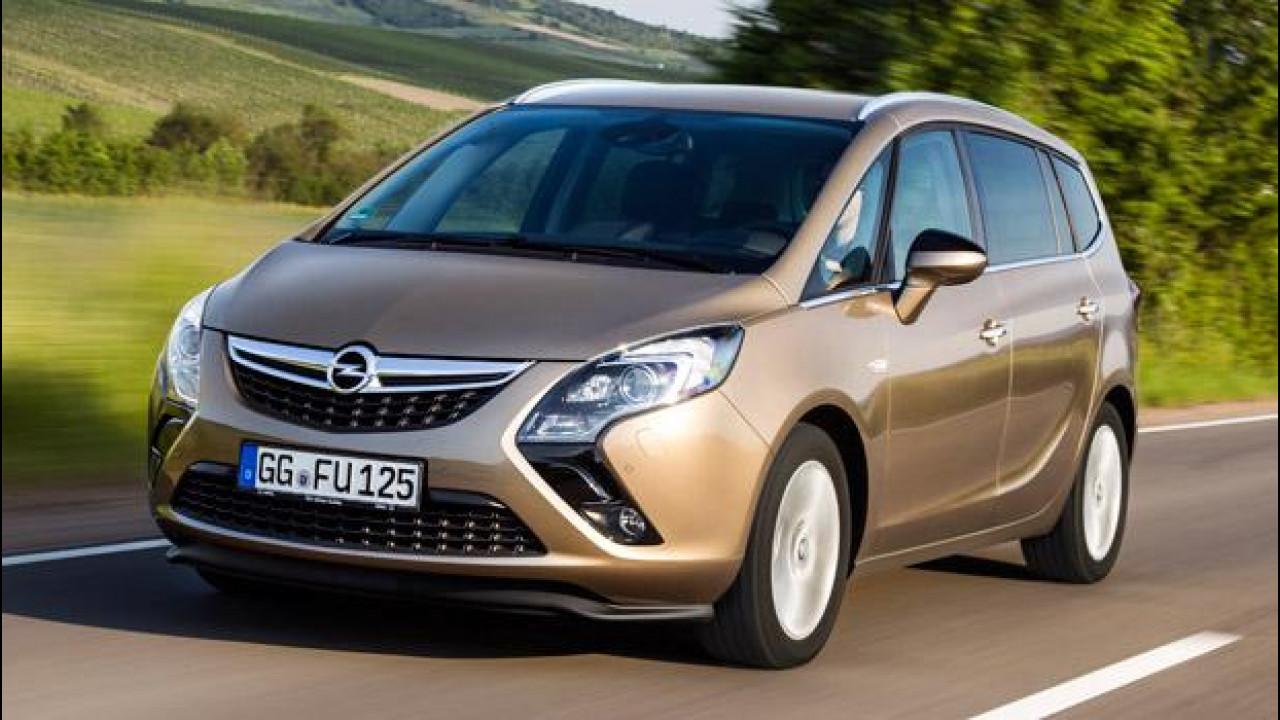 [Copertina] - Opel Zafira Tourer 1.6 CDTI, il diesel tuttofare
