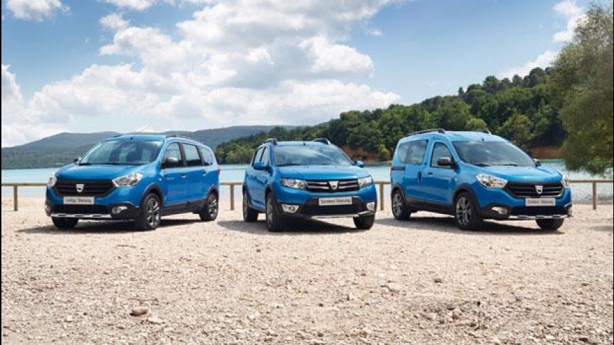 Dacia Dokker e Lodgy, pronte le versioni Stepway