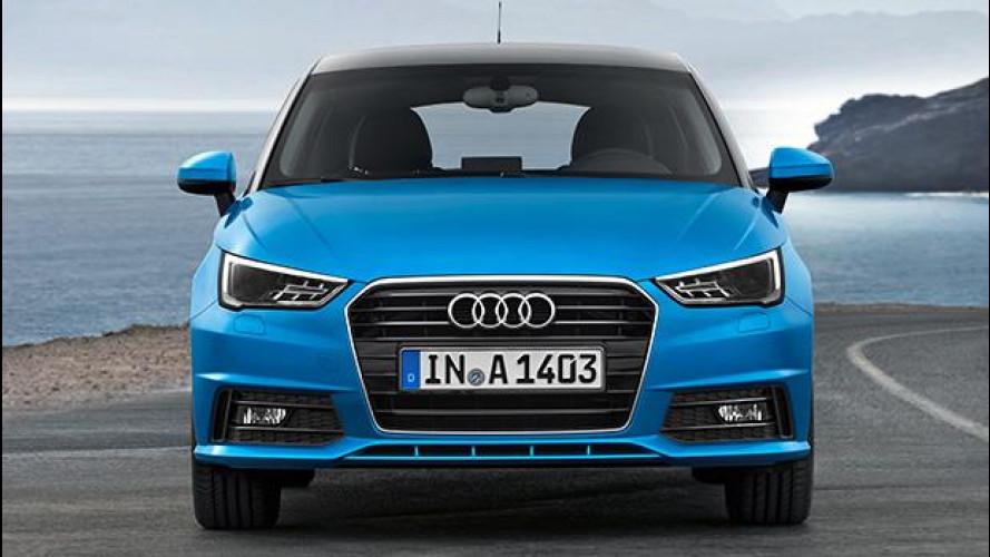 [Copertina] - Audi A1 restyling, prezzi da 20.300 euro