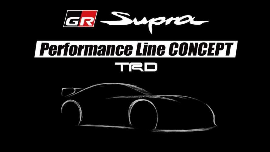 Toyota Supra TRD performance line concept teased