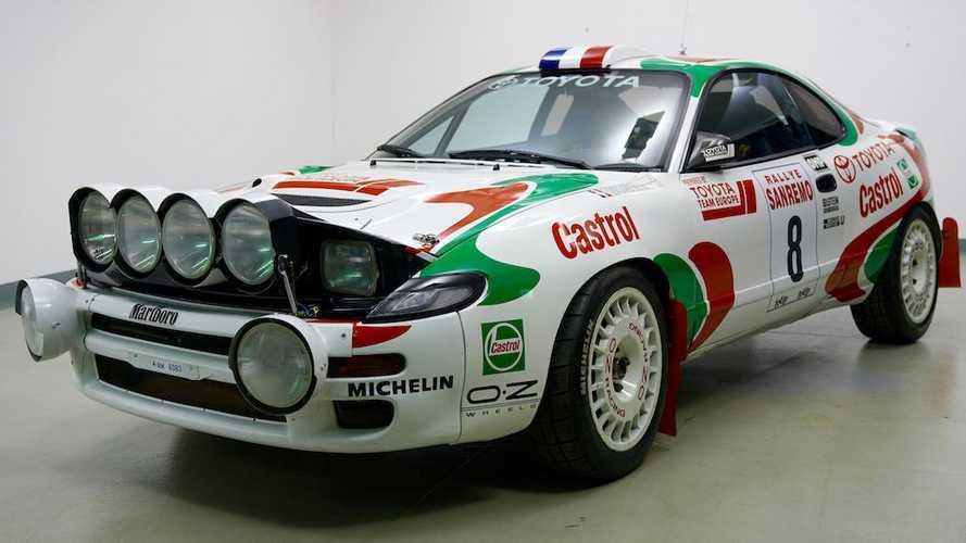 Este Toyota Celica de rallies se ha subastado por 207.000 euros