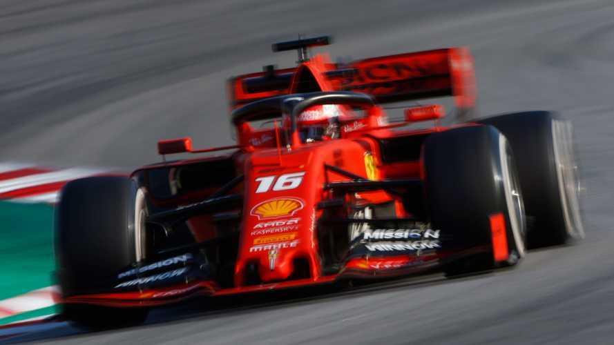 F1: Leclerc foi o mais rápido e Gasly bateu forte nos testes de Barcelona