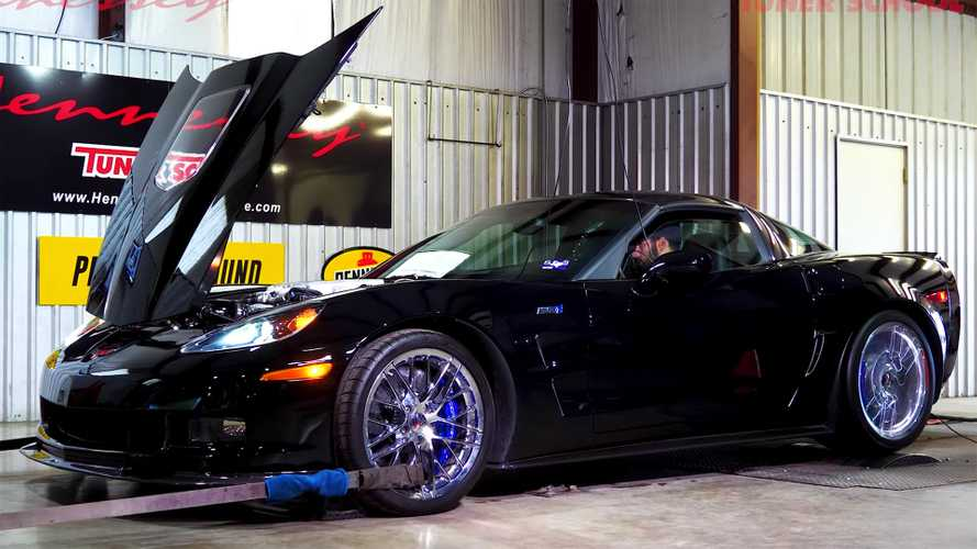 Watch Hennessey-Tuned C6 Corvette ZR1 Growl On The Dyno