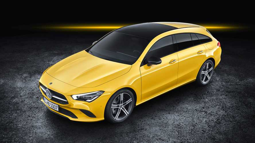 Новый Mercedes-Benz CLA Shooting Brake дебютировал в Женеве