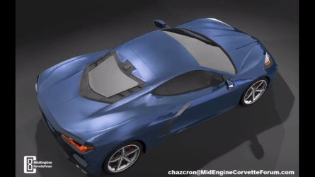 Mid-Engined Corvette Gets Detailed Walkaround In Fan Video
