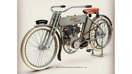 A Detailed Look At Amir Glinik's Harley-Davidsons