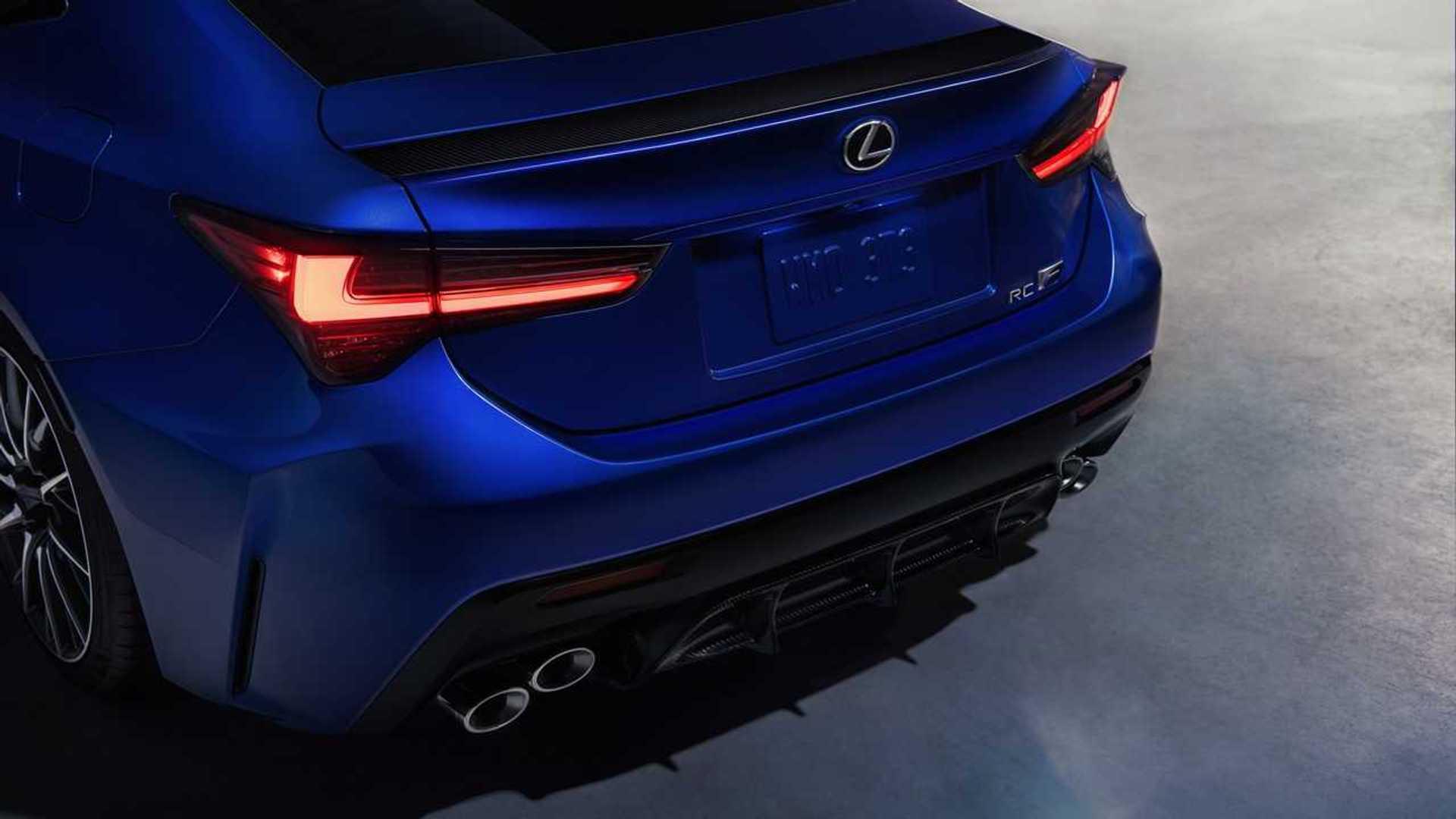 Lexus RC Facelift (2018) 45