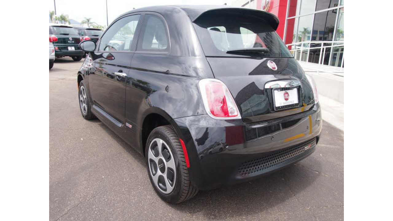 Fiat To Sell 491 Of Its 500e In 2013