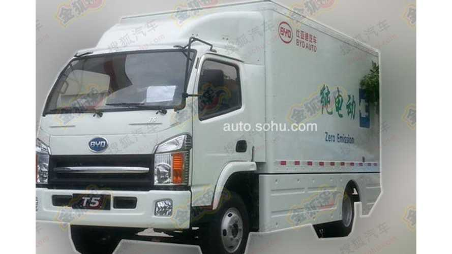 Meet T5: The BYD Electric Truck With 400 Km of Range
