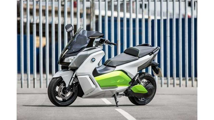 BMW C Evolution Electric Maxi Scooter Makes Worldwide Debut