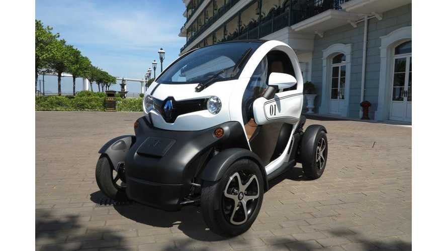 Renault Twizy Launches in Macau