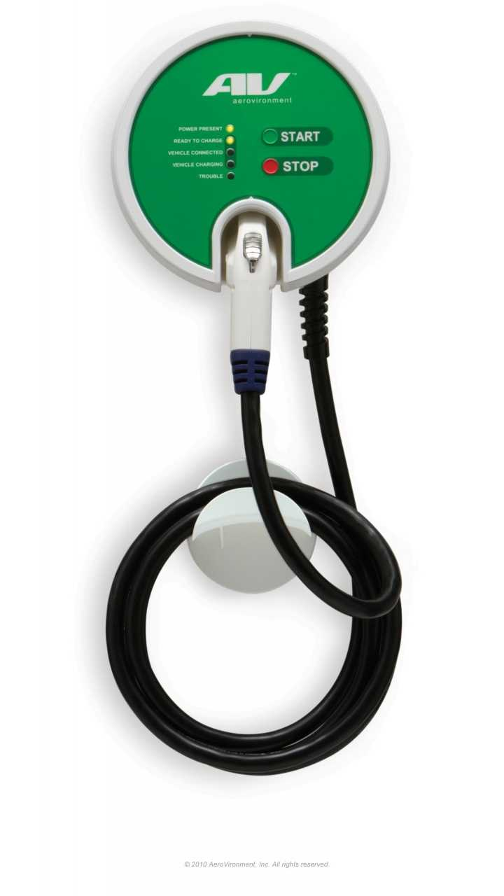 Aerovironment Selected By Fiat As Preferred Provider Of Home Charging Stations For 500e