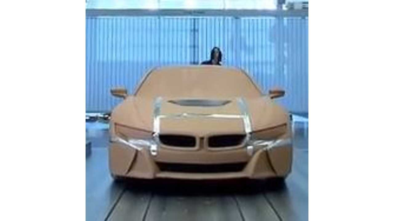 Video: BMW i8 Gets Fully Revealed in Clay Model Form