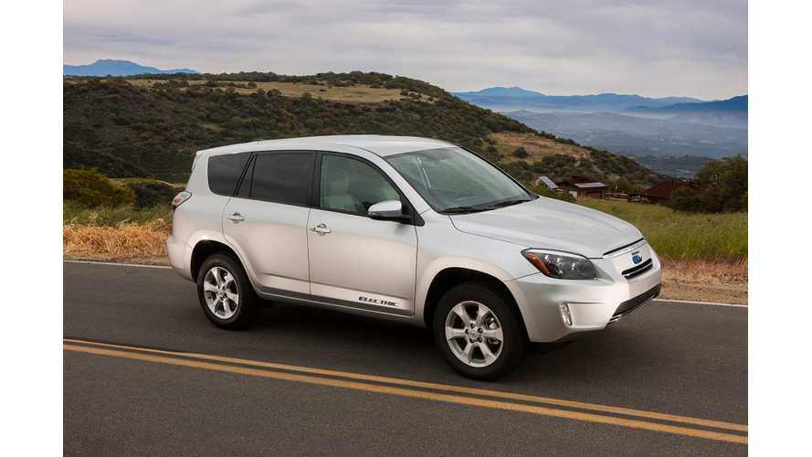 Toyota RAV4 EV Priced at $49,800, and Likely Not Coming to A Dealer Near You This Summer