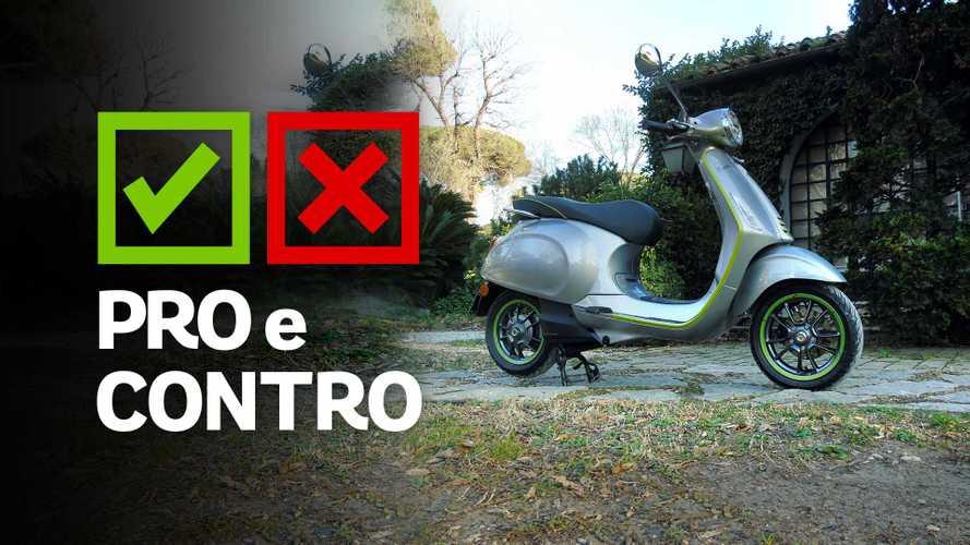 Vespa Elettrica, il primo pro e contro di OmniMoto.it