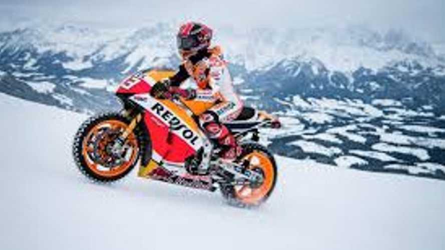 Snow Bike Badassery