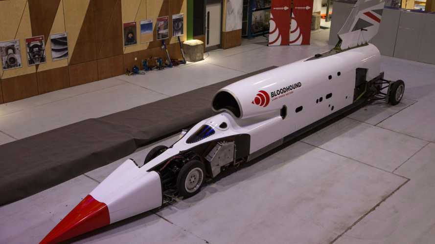 1000mph Bloodhound Land Speed Record Car Relaunched