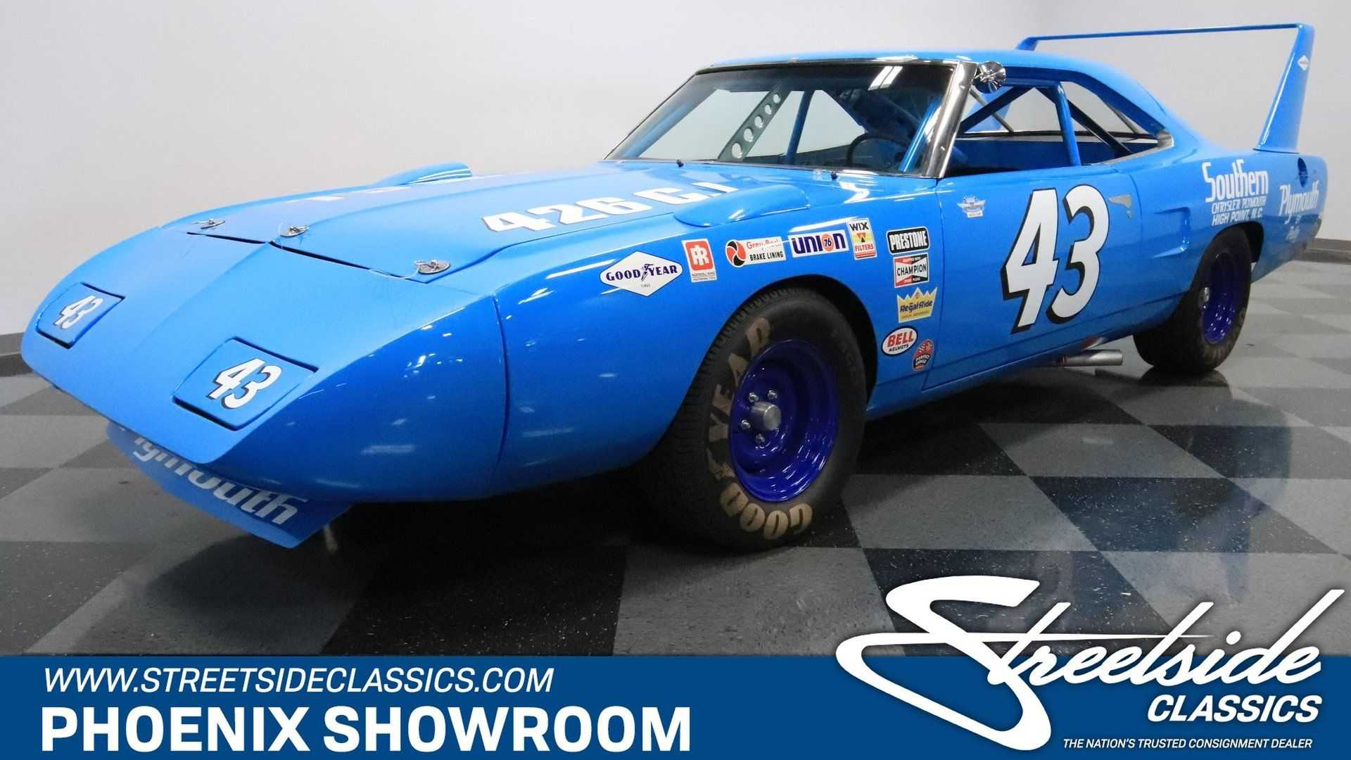 This 1970 Plymouth Superbird Richard Petty Replica Is Pure ...