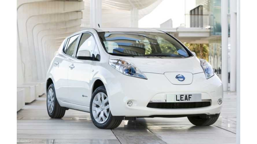 Nissan LEAF Sales Still Booming in Norway