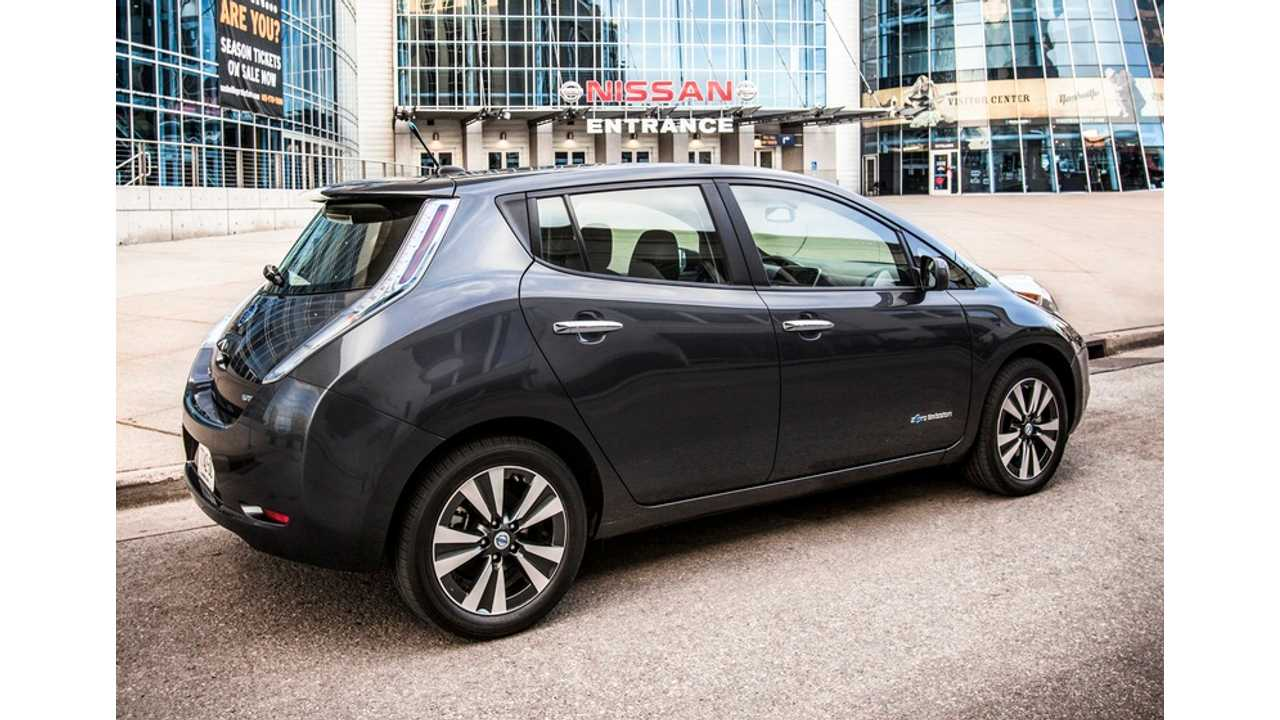 2013 Nissan LEAF Nets Owners 15% More Range On A Full Charge Over A 2012 Model