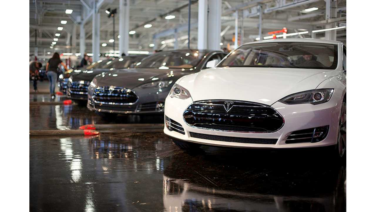 Tesla: Model S Production Now More Than 500 Per Week, Over 12 Million Total Miles Driven So Far