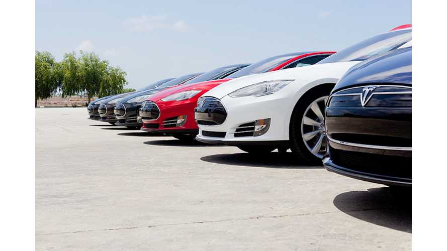 Las Vegas' Project 100 Goes Bust - Project's Tesla Model S EVs Sold Off