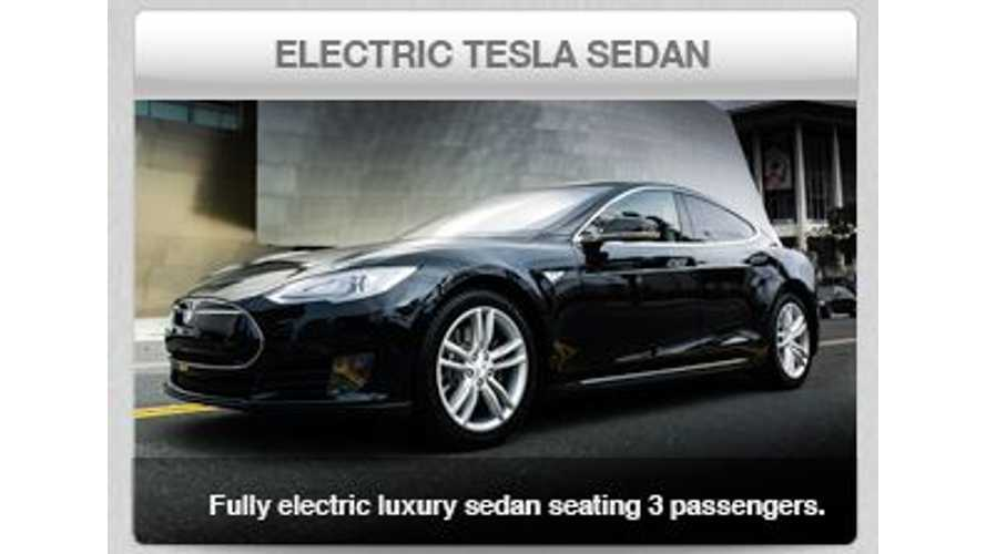 In Los Angeles, Tesla Model S Serves as Greenest Taxi Around