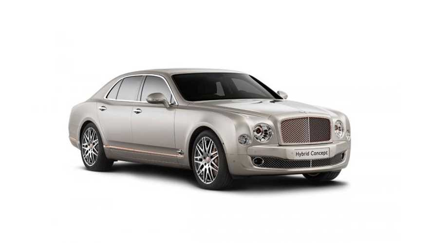 Bentley Plug In Hybrid Concept Gets Revealed