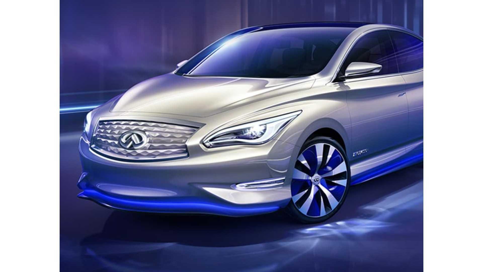 Nissan Provides Details On Next Generation Leaf Luxury Infiniti Ev Track For 2017 Debut