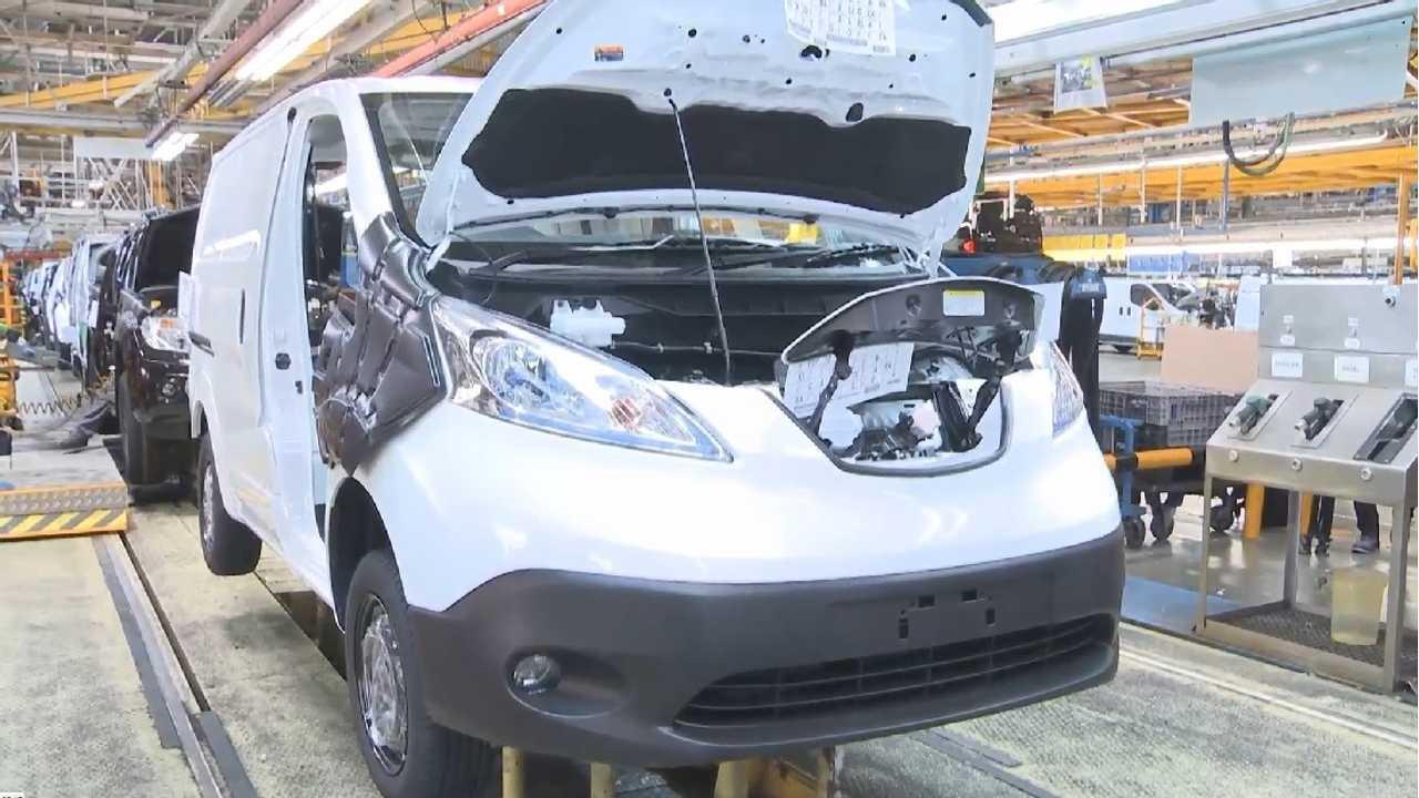 Nissan e-nv200 production starts