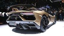 Roadster Lamborghini Aventador SVJ