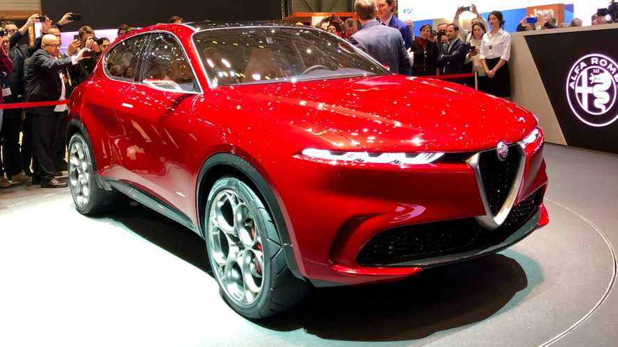 Alfa Romeo Tonale electrified compact crossover revealed in Geneva