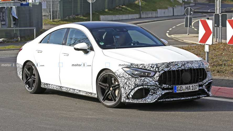 New Mercedes-AMG CLA 45 Has Lost Most Of Its Camo [UPDATE]