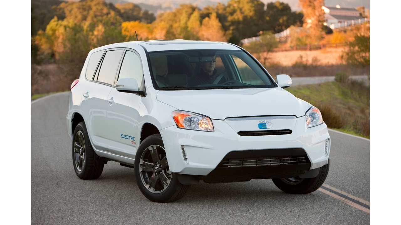 Tesla Equipped Toyota RAV4 EV Start Pre-Orders Later This Month (VIDEOS)