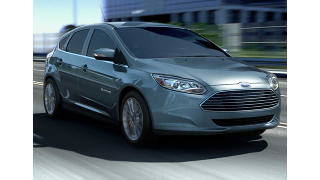 Ford Discounts The Focus Electric, Leases Now From $249/Month