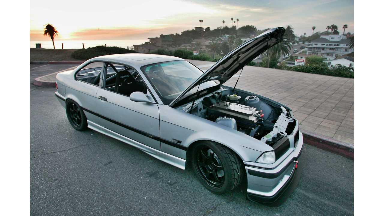 EV West's E36 M3 Ready For Pikes Peak (VIDEOS and PICTURES)