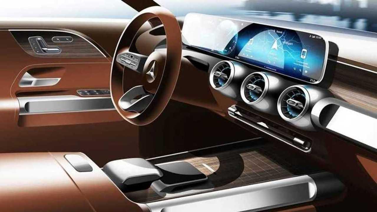Intérieur concept Mercedes GLB