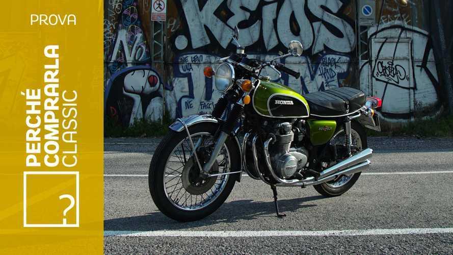 Honda CB500 Four | Perché Comprarla Classic